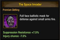 Ballistic alien