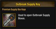 Outbreak Supply Key