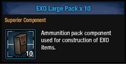 Exo pack l