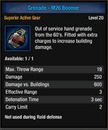 Grenade-m26 boom