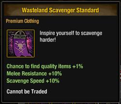 Tlsdz wasteland scavenger standard