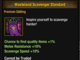 Wasteland Scavenger Standard