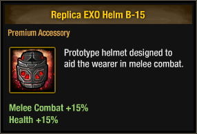 Replica EXO Helm B-15