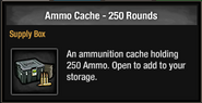 Ammo Cache - 250 rounds