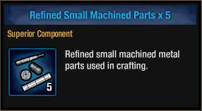 Refined Small Machined Parts