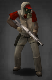 Survivor with Long Pistol