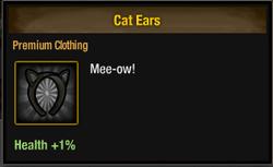 Tlsdz cat ears