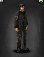 Black fatigues survivor