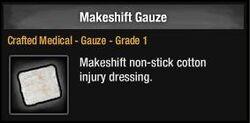 Makeshift Gauze