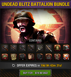 Undead Blitz Battalion Bundle package