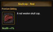Tlsdz skullcap red