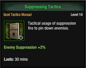 Suppressing Tactics
