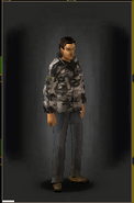 Camo Shirt - Urban equipped male