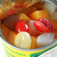 Canned-fruit