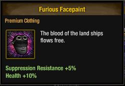 Tlsdz furious facepaint
