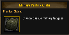 Military Pants - Khaki