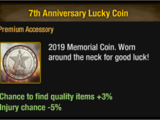 7th Anniversary Lucky Coin