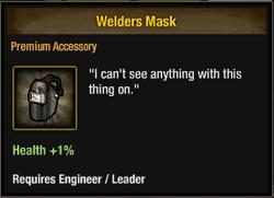 Welders Mask