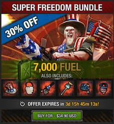 Tlsdz super freedom bundle 7000 fuel 2015