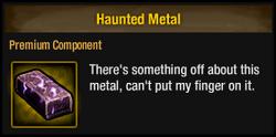 Haunted Metal