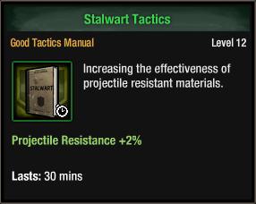 Stalwart tactics
