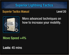 Superior Lightning Tactics