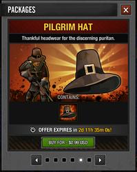 Tlsdz pilgrim hat