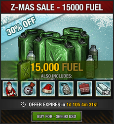 Z-Mas Sale 2016 - 15K fuel
