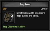 Trap tools