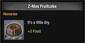 Z-Mas Fruitcake 2017