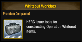 Whiteout Workbox
