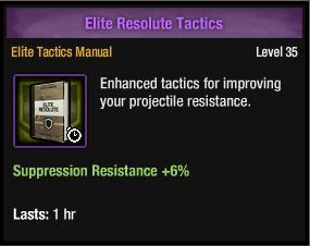 Elite Resolute Tactics