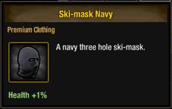 Tlsdz ski-mask navy