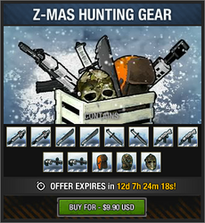 Z-Mas Hunting Gear