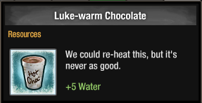 Luke-warm Chocolate 2016
