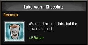Luke-warm Chocolate 2016