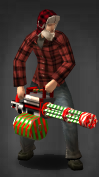 Merry Minigun Survivor