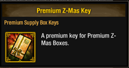 Tlsdz premium z-mas key