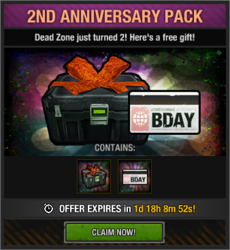 2nd Anniversary Pack