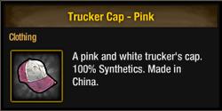 Tlsdz trucker cap pink