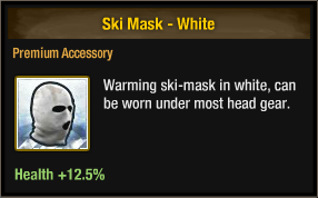 Ski Mask - White