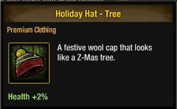 Tlsdz holiday hat - tree