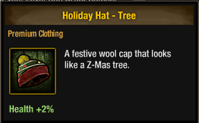 Tlsdz holiday hat - tree