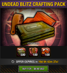 Undead Blitz Crafting Pack