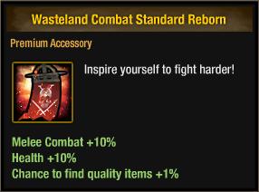 Wasteland Combat Standard Reborn