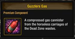 Tlsdz guzzlers gas
