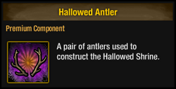 Hallowed Antler