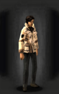 Desert Cookie Fatigues - Top equipped female