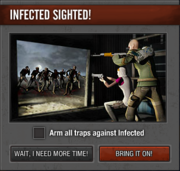 Infected sighted