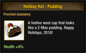 Holiday Hat - Pudding